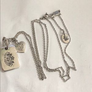 Juicy Couture Dog Tag necklace